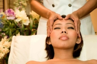 Indian Head massage at espace beaute mauritius